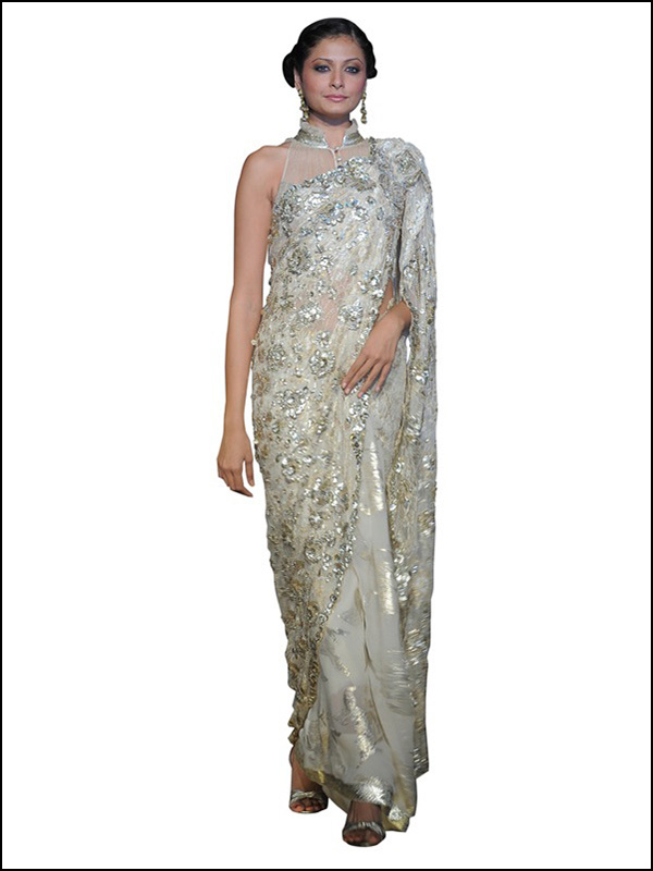 Shantilly Lace Sarees