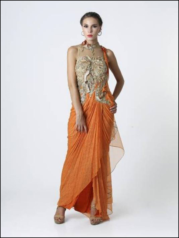 Cocktail Saree – 01