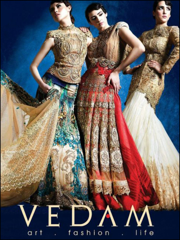 Vedam Bridal Lehengas Designer Sarees Gowns Indowesterns And Sherwanis In Kolkata