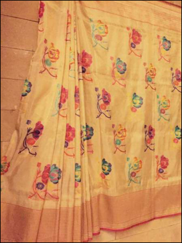 Traditional Silk Saree – 01
